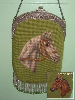 Needlepoint Horse