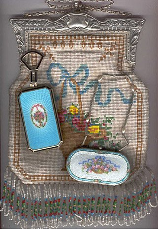 Purse & Compact Collage