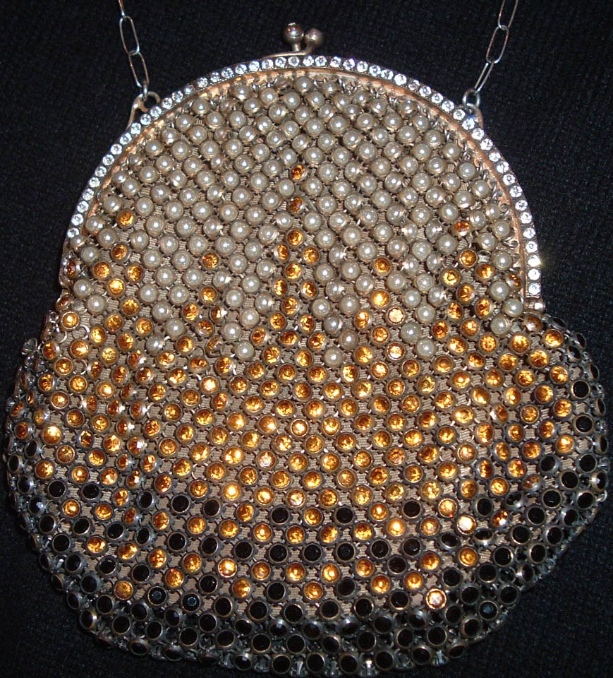 Jeweled French Mesh