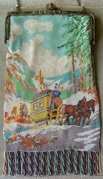 Stagecoach Scenic Beaded