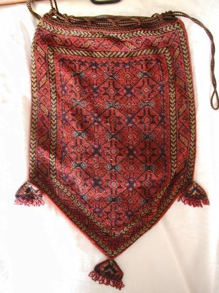 Beaded Prayer Rug