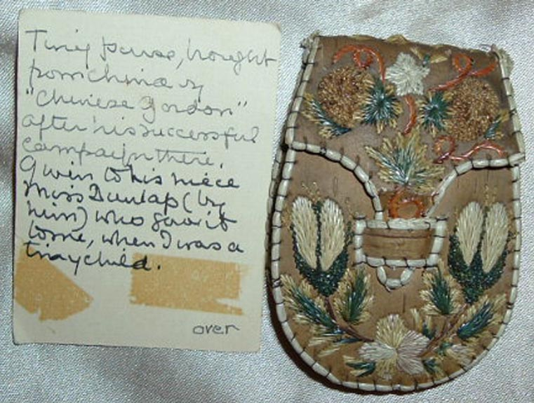 Coin Purse with Provenance