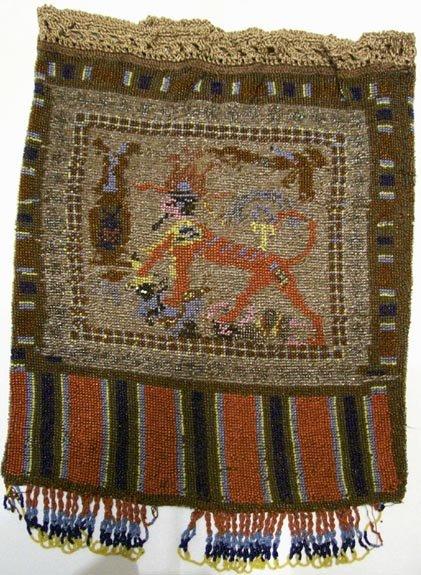 Egyptian Revival Beaded