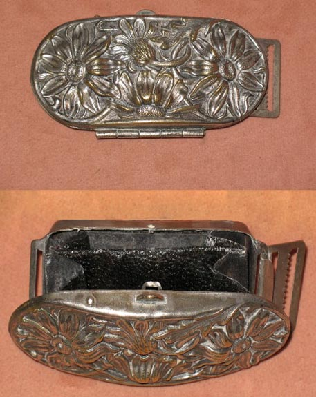 Early Belt Buckle with Hidden Coin Purse