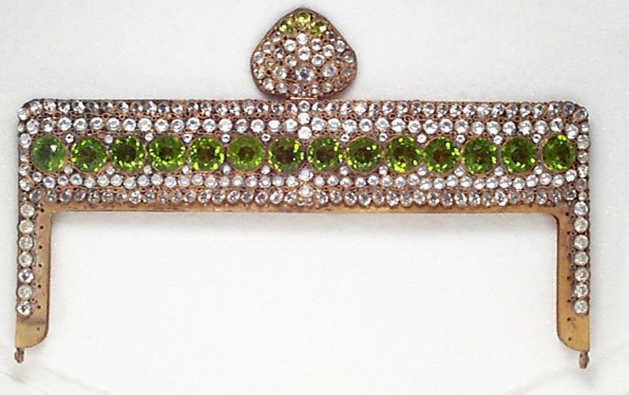 Green Jeweled Hobe Frame