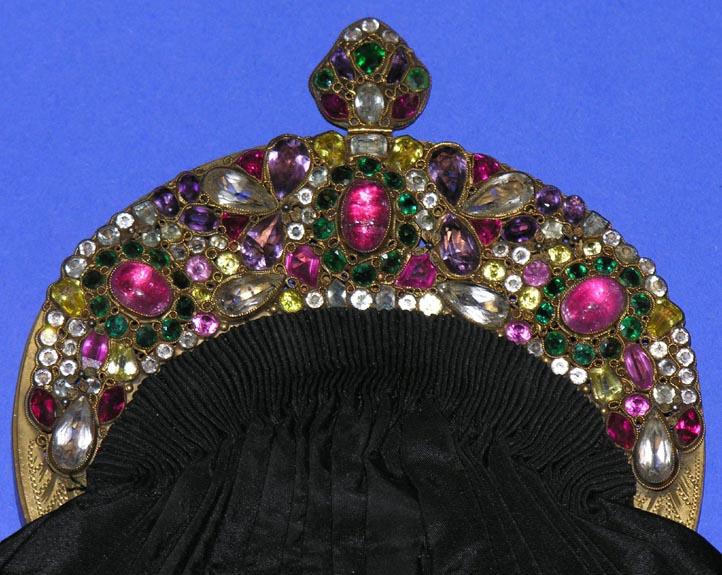 Spectacular Hobe Multicolored Jeweled Frame