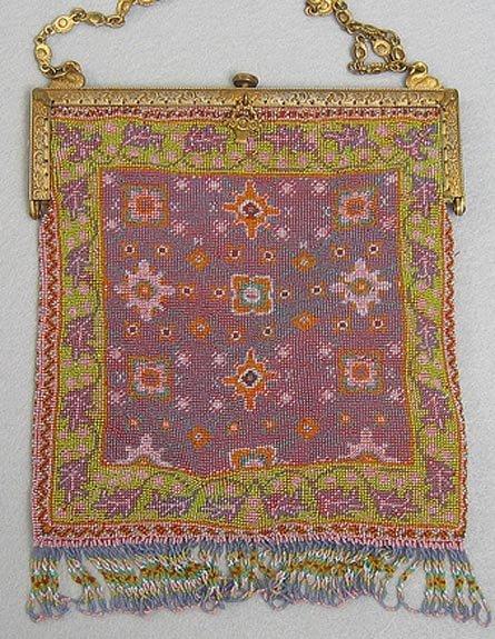Vibrant Persian Carpet Beaded