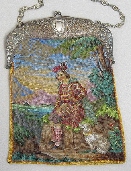 In the Gloaming Beaded Figural