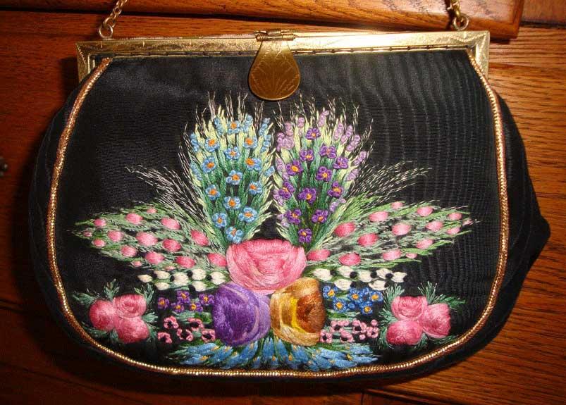 French Pompadour Bag