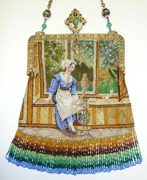 Lady by Bay Window