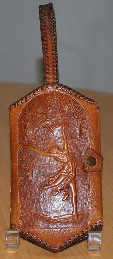 Leather Vanity Purse