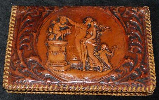 1930s Leather Purse