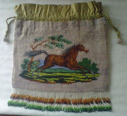 Two Sides Beaded Drawstring
