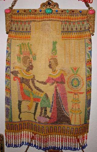 Elegant Egyptian Micro Beaded