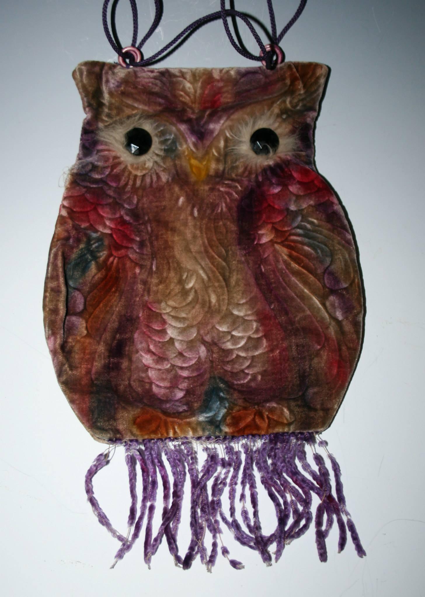 Purse Tales: The Velvet Owl