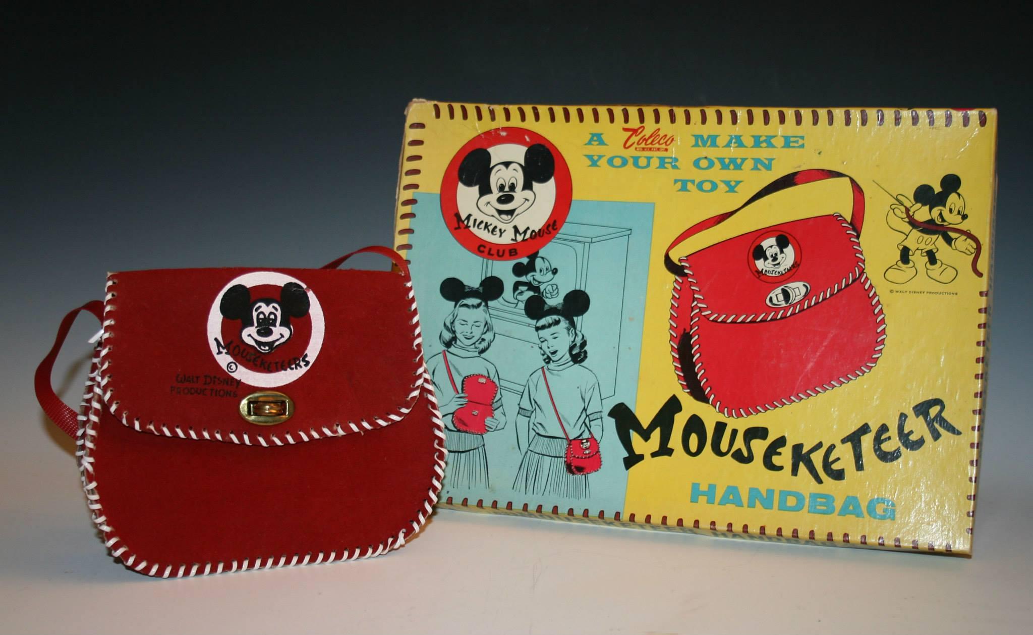 Mouseketeer Handbag