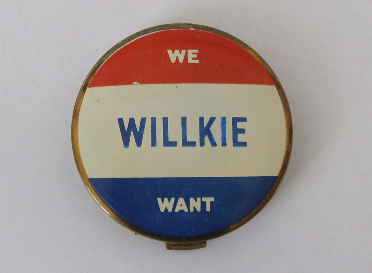 Presidential compact: Wendell Willkie