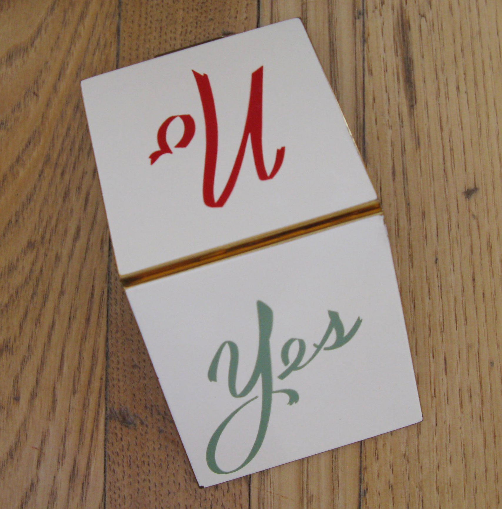 Yes + No compact