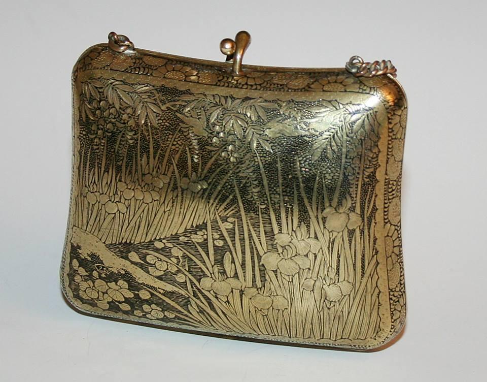 Komai-style purse