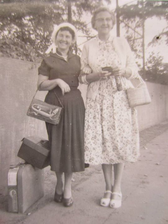 Mom and grandma