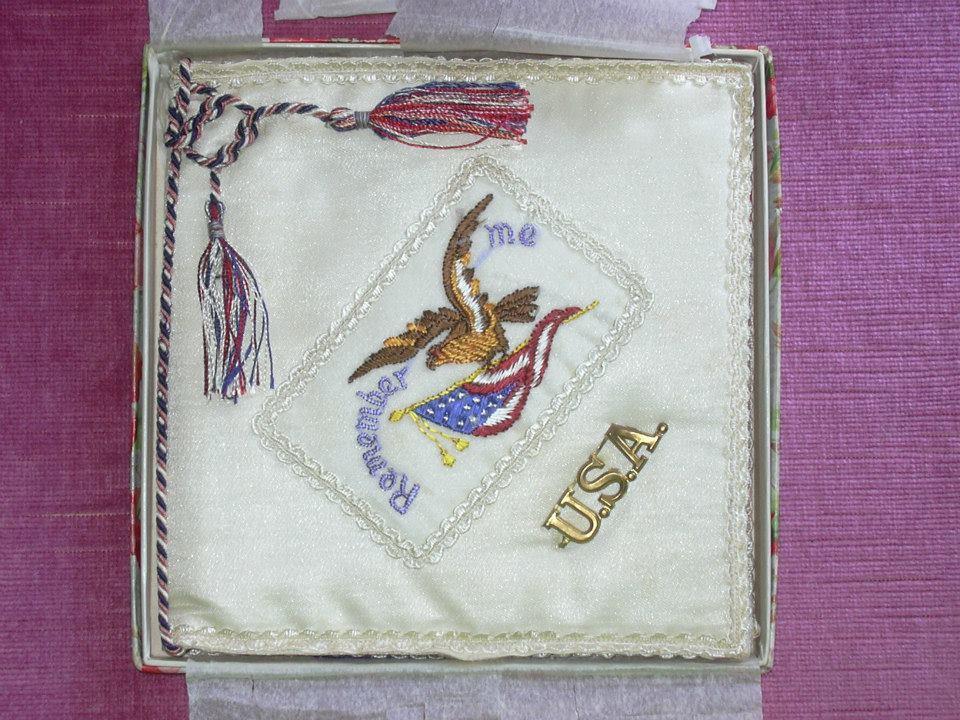1919 handkerchief bag