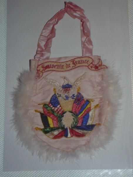 World War 1 souvenir purse