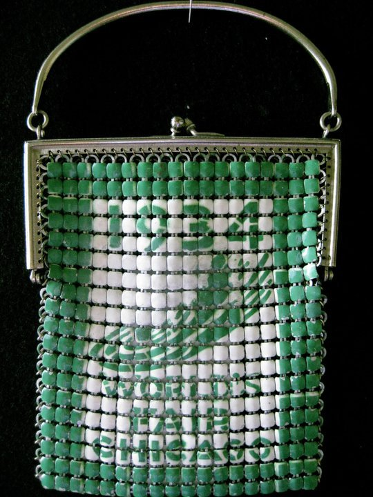 1934 Chicago World's Fair mesh purses