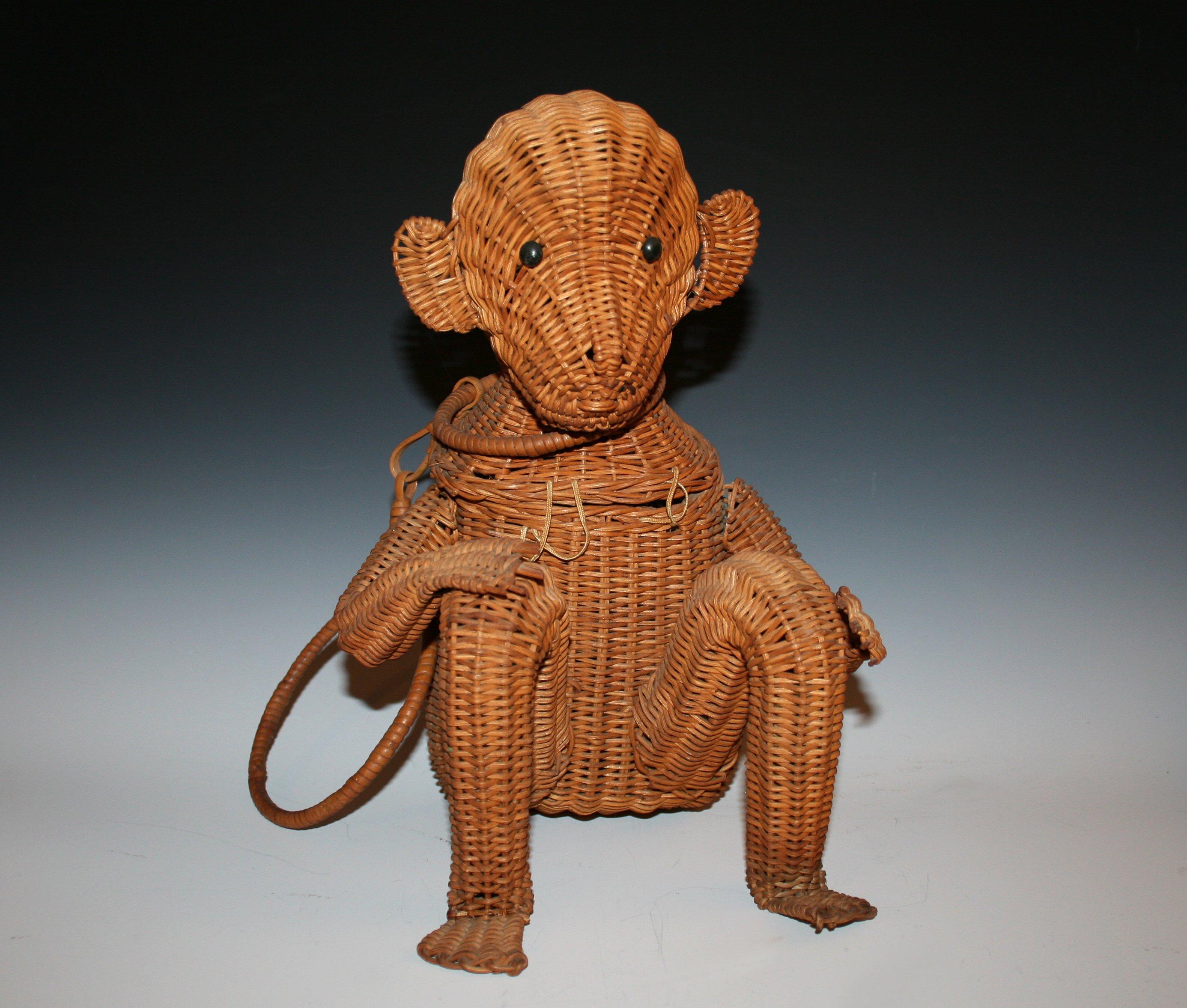 Wicker Monkey Purse