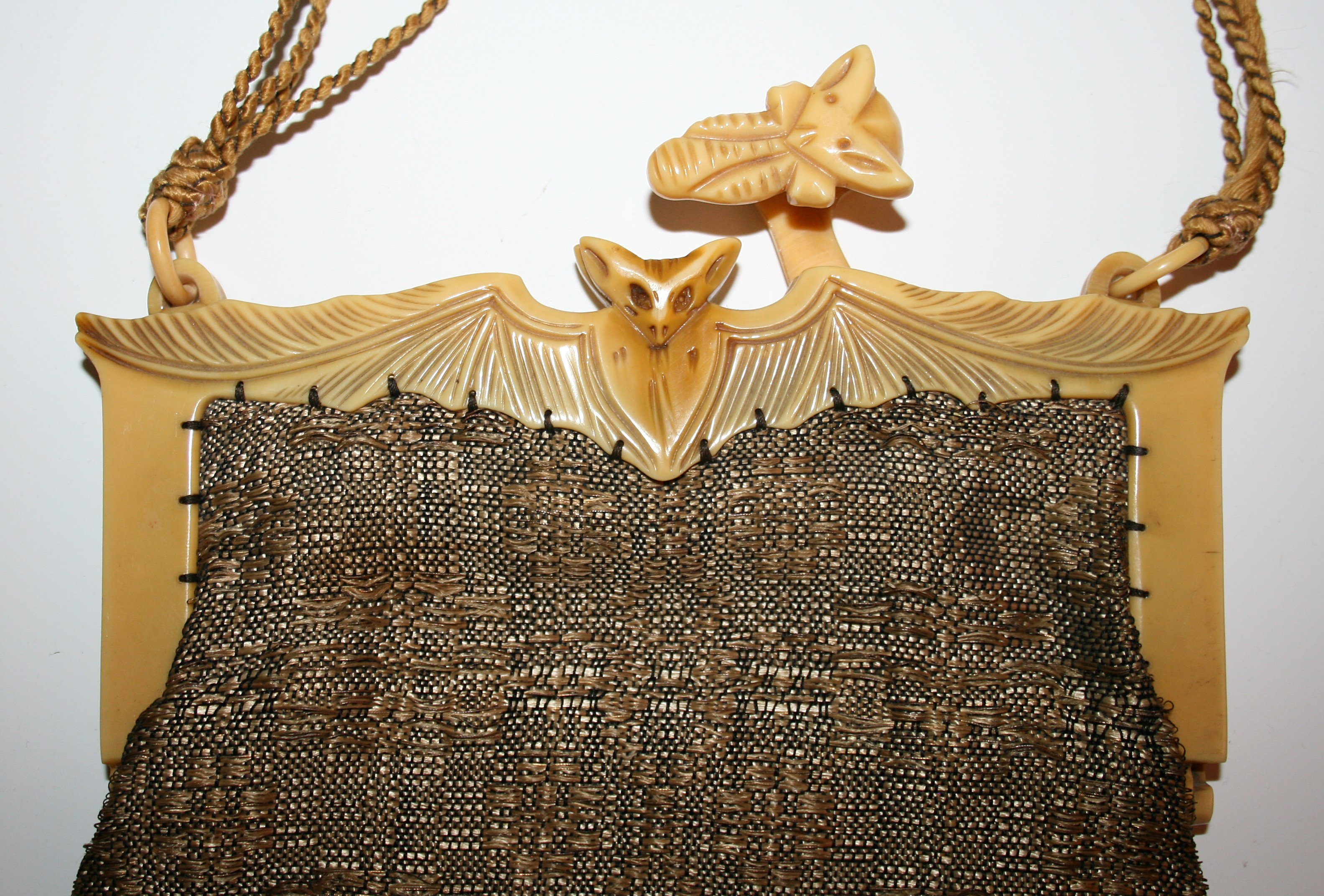 Celluloid bat purse