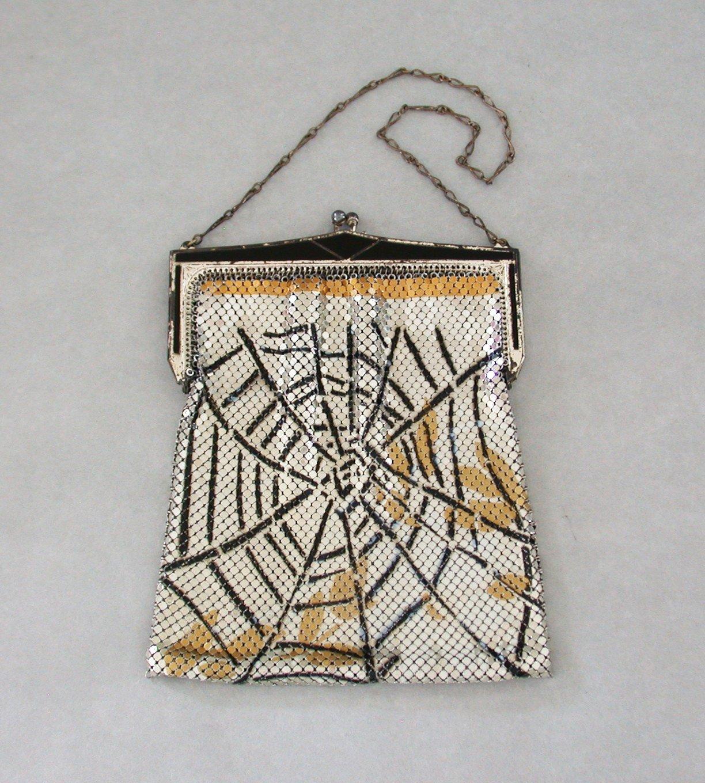 Spider web purse