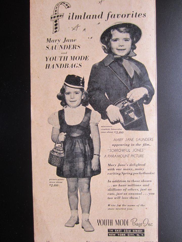 Youth Mode Handbags ad