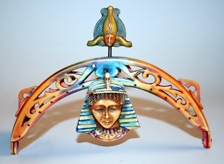 Celluloid Egyptian Revival Frame