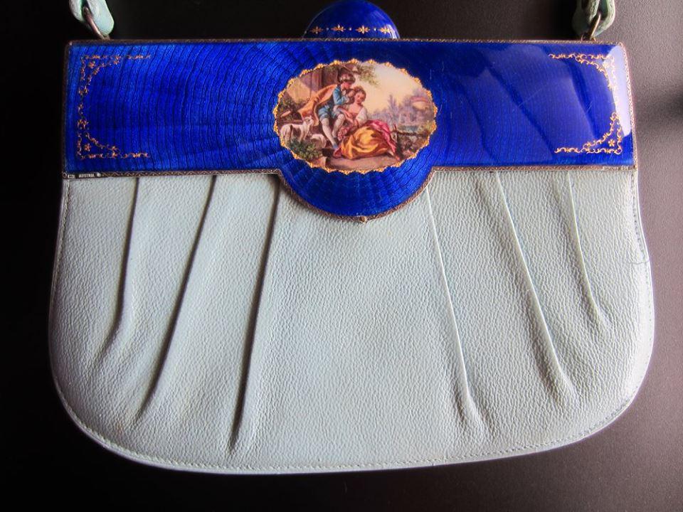 Enamel Austrian purse