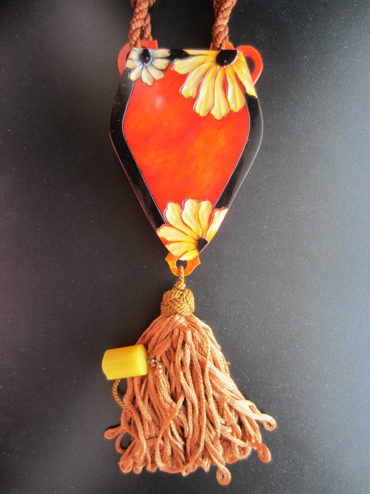 Celluloid dance purse