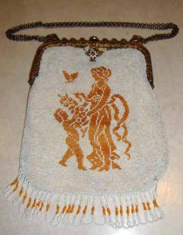 Aphrodite and Eros purse