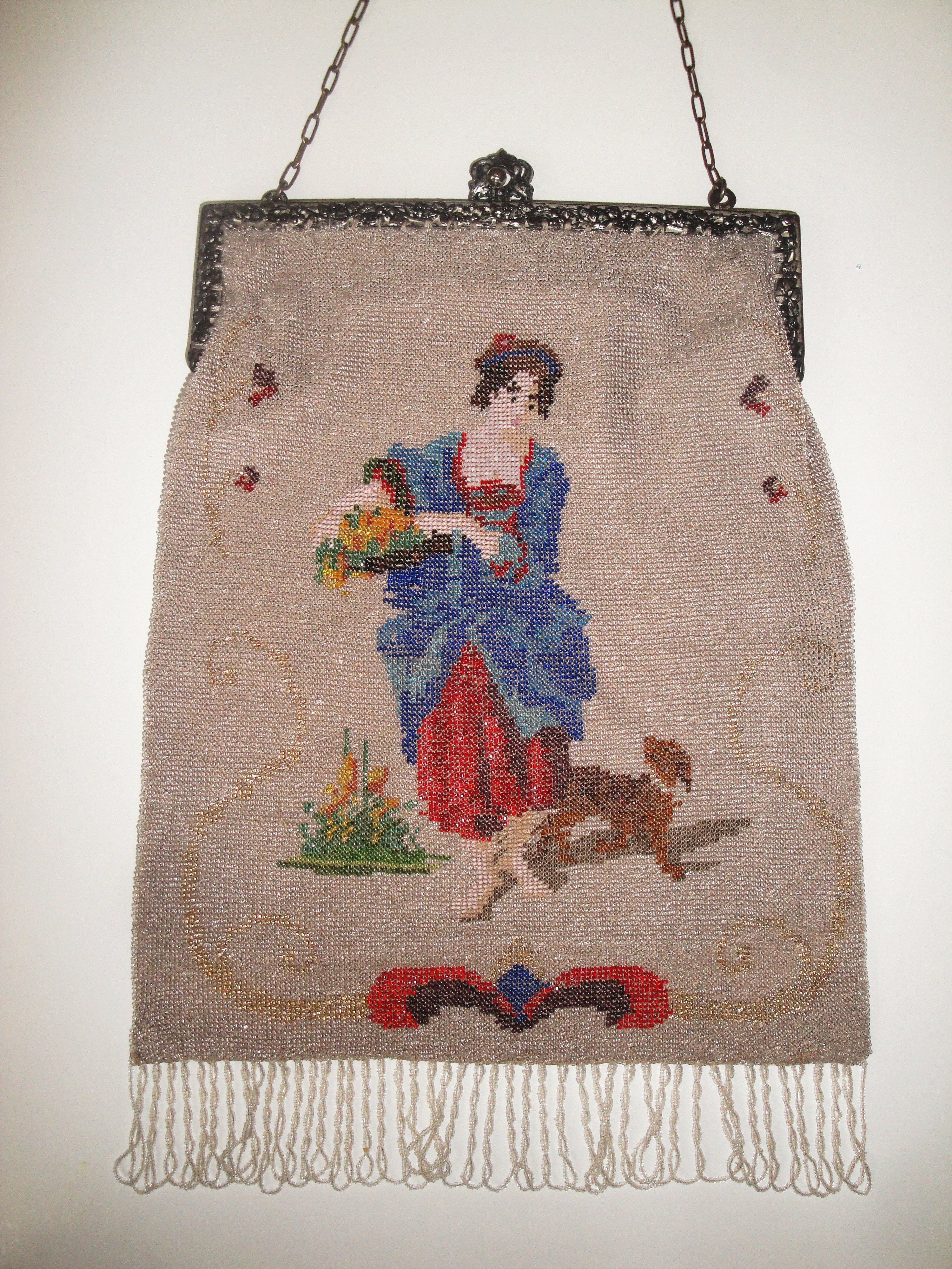 Figural Woman with Dog
