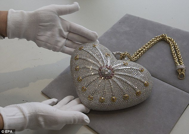 World's most expensive handbag is offered in exclusive private sale