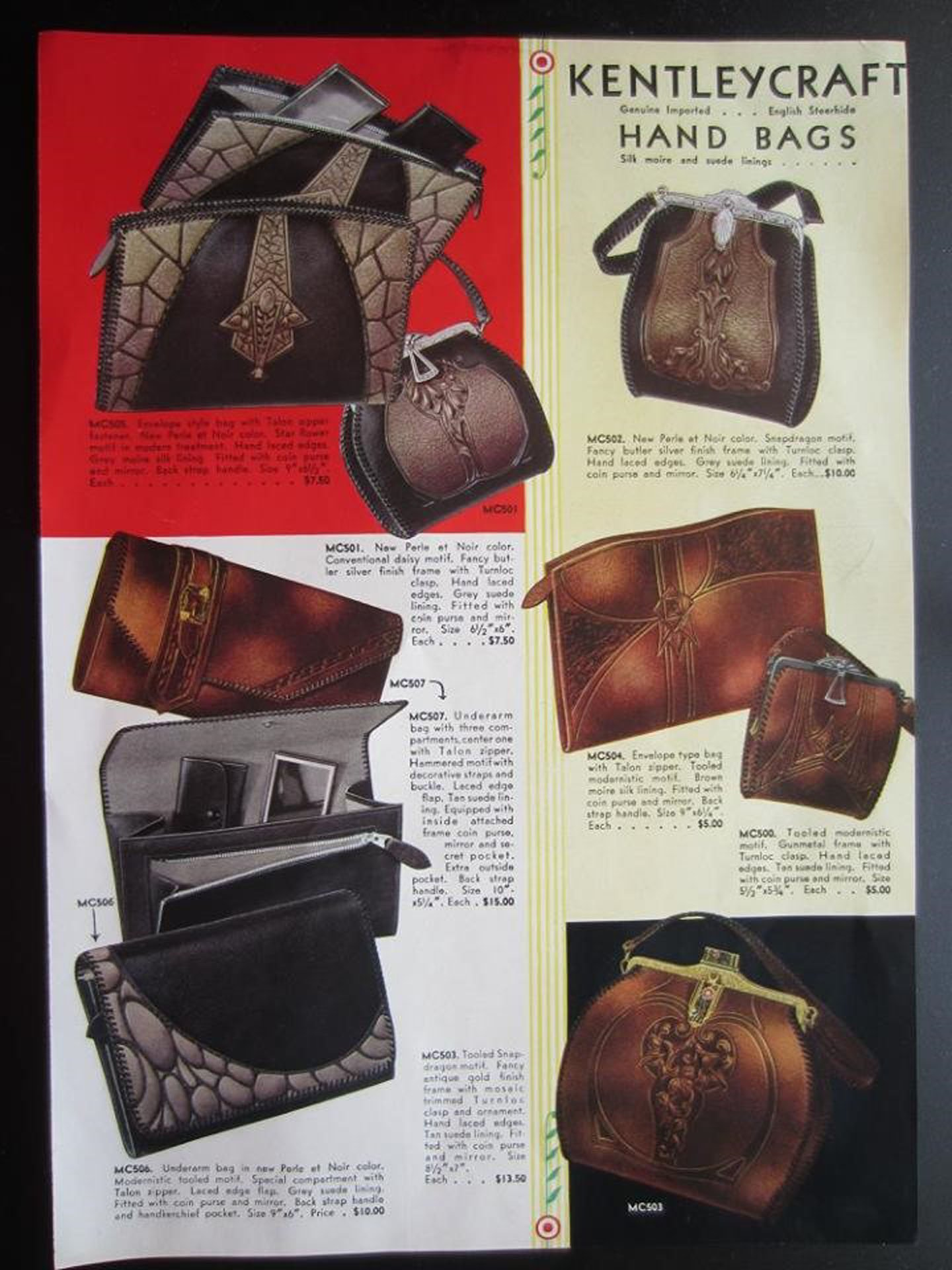 1933 Kentleycraft ad