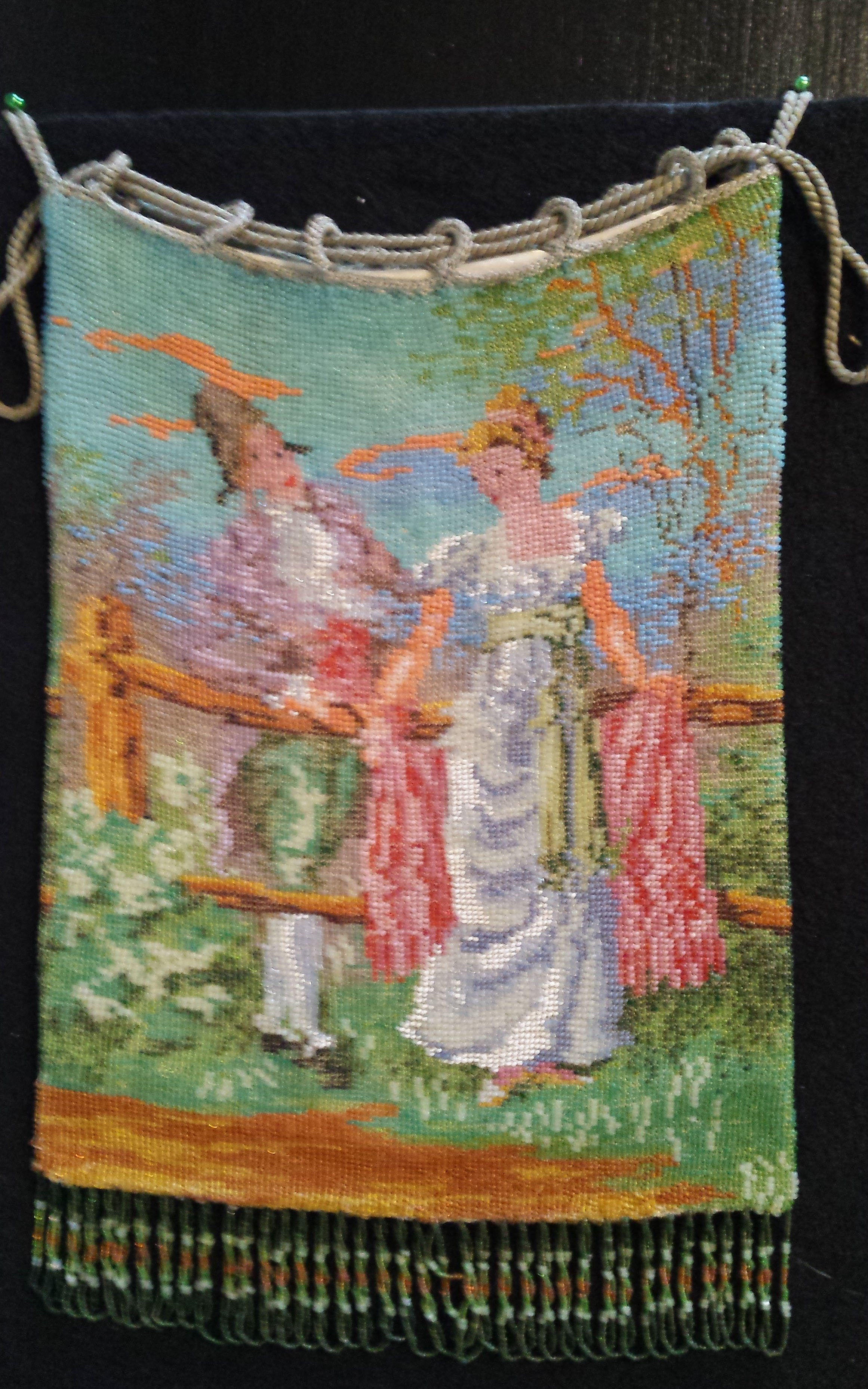 Courting Couple Reticule