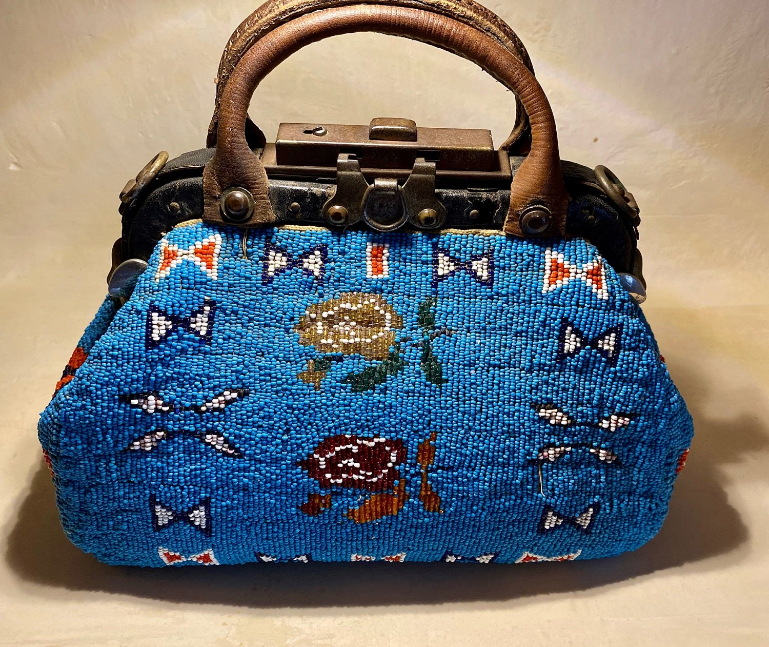 Sioux Beaded Doctor's Bag