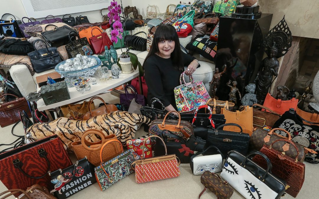 PA woman owns 3000 handbags